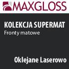płyty meblowe - maxgloss supermat