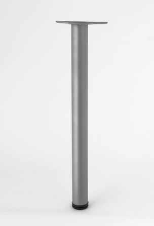 Nóżka aluminiowa katowa RFA 011 z regulacją